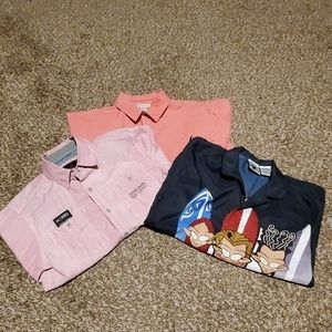 Short sleeve   shirts as a bundle